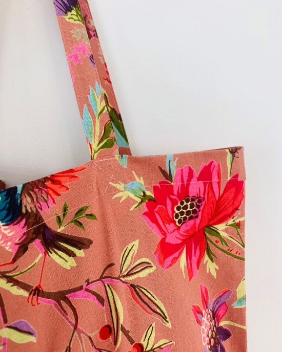 Paradise Dusty Pink Tote Bag
