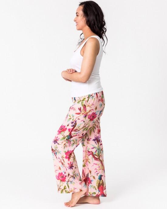 Paradise Rose lounge pants with pockets