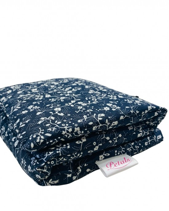 Floral Navy Long